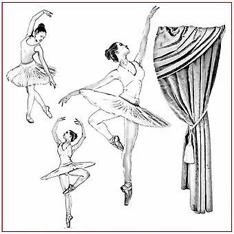 Stamperia Rice Paper Napkin Dancer