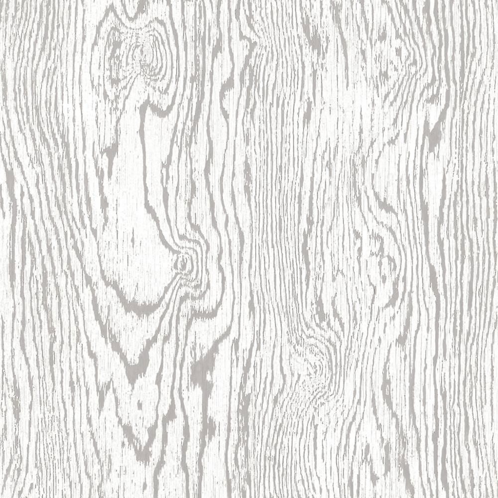 White Grey Wood Effect Wallpaper Distressed Grains Boards Paste The Wall Vinyl