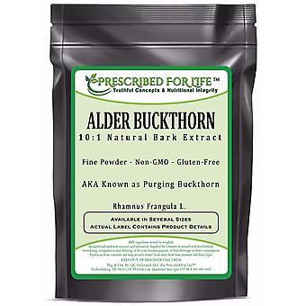 Buckthorn - 10:1 Natural Alder Bark Powder Extract (Rhamnus frangula)