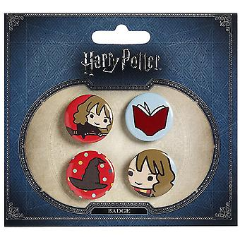 Harry Potter Chibi Button emblem (stil 2)