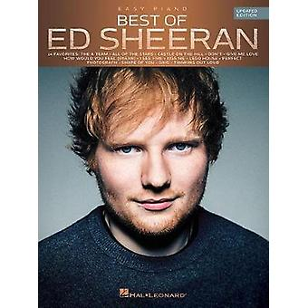 Best Of Ed Sheeran (Updated Edition) Easy Piano Book by Ed Sheeran -