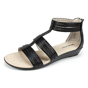 Rialto Womens Greer Open Toe Casual Ankle Strap Sandals
