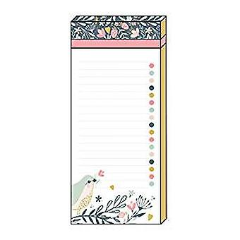 Artfile Wild Berry Magnetic List pad | Gifts Handpicked