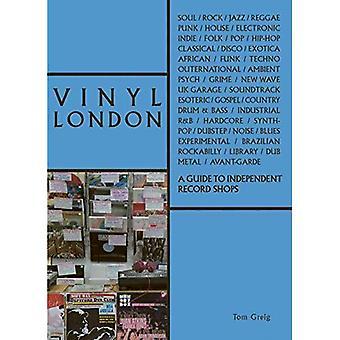 Vinil Londres: um guia para lojas de discos independentes (The London Series)