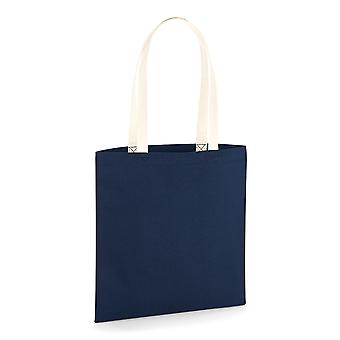 Westford Mill EarthAware Contrast Handle Organic Bag For Life