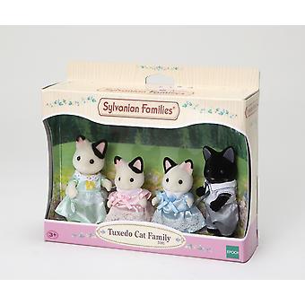 Figura - famílias Sylvanian - smoking gato família - EP5181 - Epoch