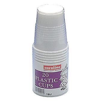 Caroline plast kopper (Pack 240)
