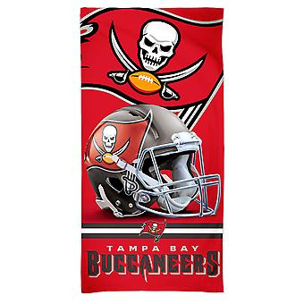 Wincraft NFL Tampa Bay Buccaneers 3D Strandtuch 150x75cm