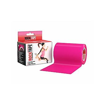 Rocktape Mini Big Daddy Rolls Adhesive Kinesiology Tape 10cm x 5m - Hot Pink