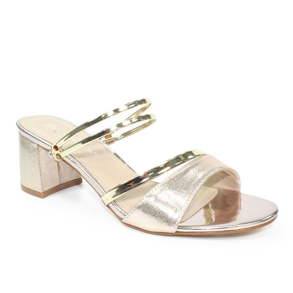 Lunar Willow Block Mule Sandal dboKN