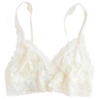 Hanky Panky Signature Lace Thick Strap Bralette - Ivory
