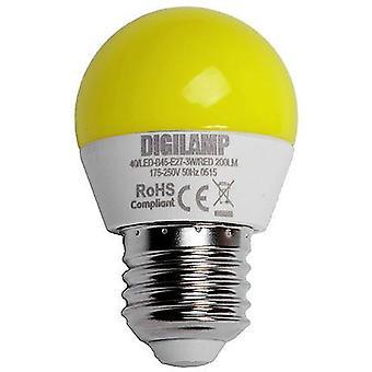 Digilamp Yellow bulb E27 3W (Lighting , Light bulbs)