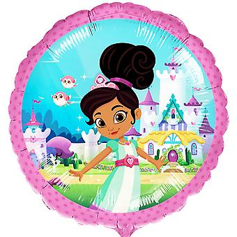 Nella The Princess Knight Circle Foil Balloon