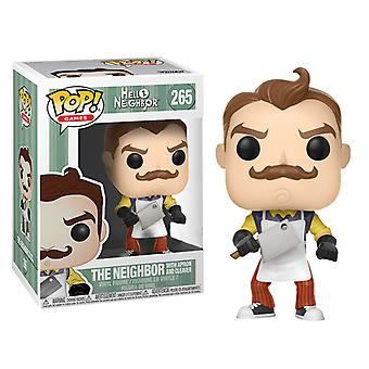 Hello Neighbor the Neighbor w/ Apron & Cleaver US Pop! Vinyl