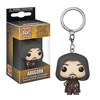 The Lord of the Rings Aragorn Pocket Pop! Keychain