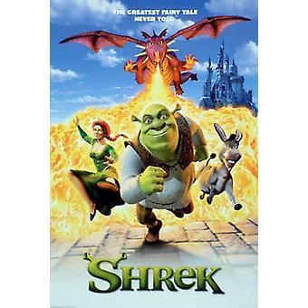 Shrek (Single Sided Regular Reprint) Reprint Poster