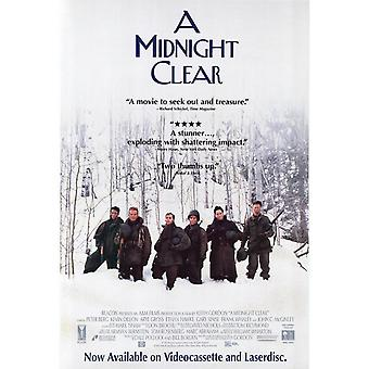 A Midnight Clear (Single Sided Video) (1992) Original Video Poster