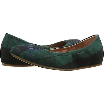 ED by Ellen Womens Langston Leather Closed Toe Ballet Flats
