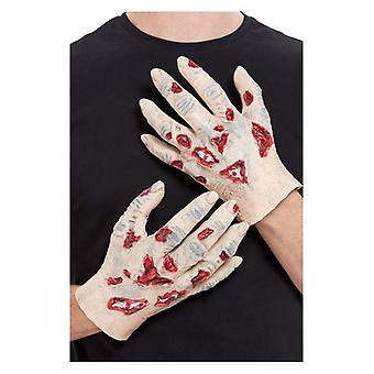 Accessorio in lattice mani di Halloween Fancy Dress