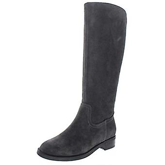 Aqua College Womens Elsa Faux Suede Waterproof Riding Boots