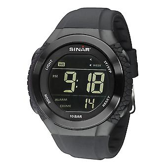 SINAR jeugd horloge polshorloge digitale Quartz Unisex siliconen riem XM-21-1