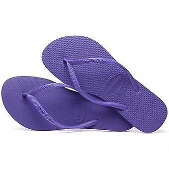 Havaianas Hav Slim Ladies Flip Flops Purple