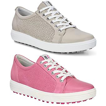 Ecco Donne Casual Hybrid 2 Spikeless Pelle Repellent Golf Scarpe