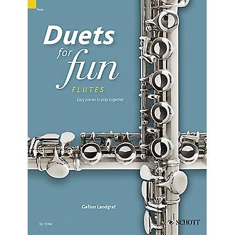 Duets for Fun Flutes  Easy Pieces to Play Together by Edited by Gefion Landgraf