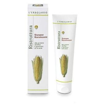 L'Erbolario Restructuring Shampoo of Corn Proteins and Green Tea Extract