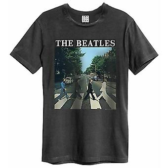 Camiseta amplificada dos Beatles Abbey Road Mens