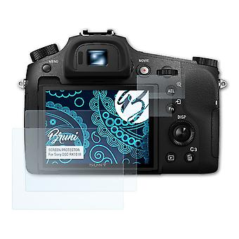 Bruni 2x Screen Protector compatible with Sony DSC-RX10 III Protective Film