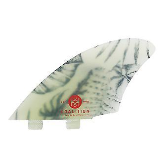 Koalition keel fins - tropical leaves fcs