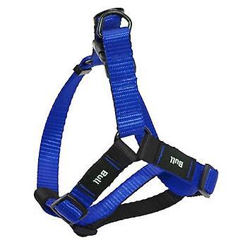 Yagu Petral の基本的な色の青 (犬、首輪、リード、ハーネス、ハーネス)