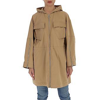 Stella Mccartney 599855soa092711 Women's Beige Cotton Outerwear Jacket