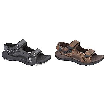 PDQ Mens Touch Fastening Superlight Sports Sandals
