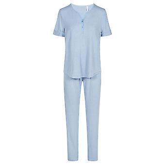 1203027-10060 Women-apos;s Smart Casual Jeans Blue Pyjama Set