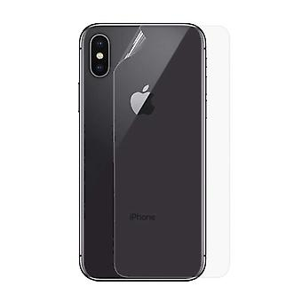 Stuff Certified® iPhone XS Max Transparent Back Cover TPU Foil Hydrogel Protector Protector Cover Case