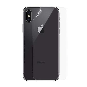 الاشياء المعتمدة® iPhone XS ماكس شفافالغطاء الخلفي TPU احباط هيدروجيل حامي الغطاء القضية