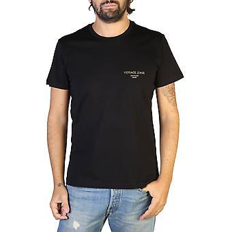 Versace Jeans Original Men All Year T-Shirt - Black Color 35004
