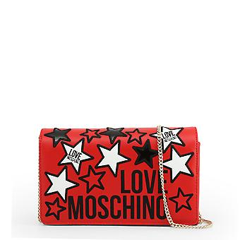 Love Moschino Original Women Spring/Summer Clutch Bag Red Color - 71085