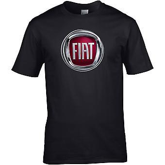 Fiat Farge - Bilmotor - DTG Trykt T-skjorte