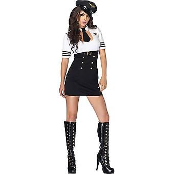 First Class Captain Costume for women