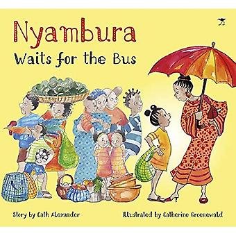 Nyambura waits for the bus