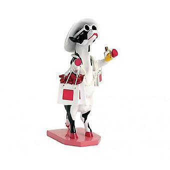 Cow Parade Alphadite Goddess of shopping (medium)