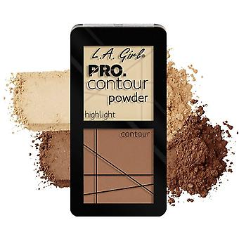 L.A. Girl Light palette duo contour powder