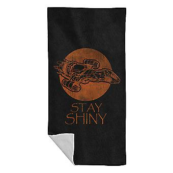 Firefly Stay Shiny Serenity Beach Towel