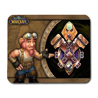 World of Warcraft Gnome Mouse Pad