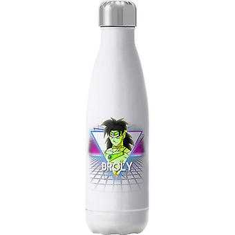 Broly Dragon Ball Z Retro 80s Neon Landscape Insulated Stainless Steel Water Bottle