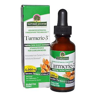 Nature's Answer Turmeric-3 30ml 1396