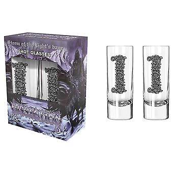 Dissection Shot Glasses Storm Of The Lights Bane new Official Boxed 2 Pack